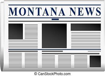 Newspaper state of Montana