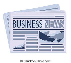 newspaper  - business newspaper