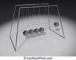Newton Pendulum Spheres