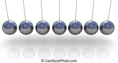 Newton's balls