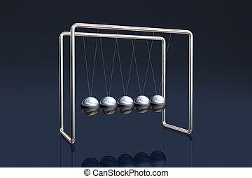 Newton\\\'s cradle
