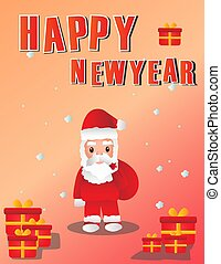 newyear background - New year background and vector picture