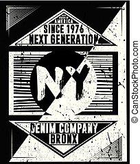 newyork, atlético, diseño gráfico