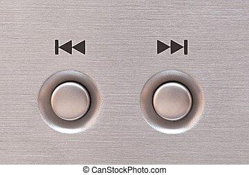 Next and previous button