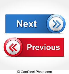 Next and Previous Buttons - Next and previous buttons, ...