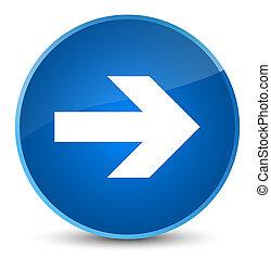 Next arrow icon elegant blue round button