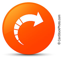 Next arrow icon orange round button