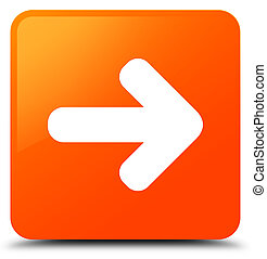 Next arrow icon orange square button