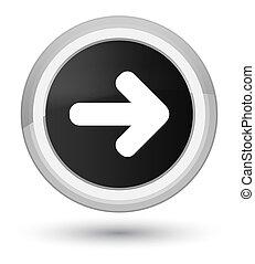 Next arrow icon prime black round button