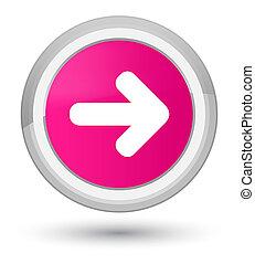 Next arrow icon prime pink round button