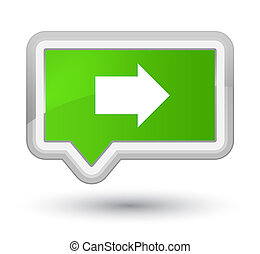 Next arrow icon prime soft green banner button