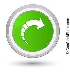 Next arrow icon prime soft green round button