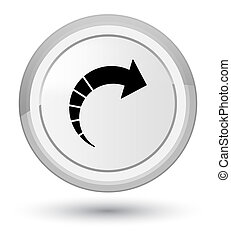 Next arrow icon prime white round button