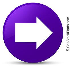 Next arrow icon purple round button