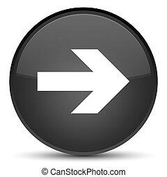 Next arrow icon special black round button
