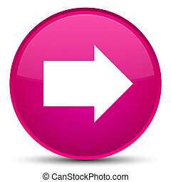 Next arrow icon special pink round button