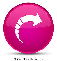 Next arrow icon special pink round button