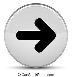 Next arrow icon special white round button