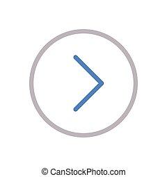 next  color line icon
