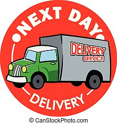 Next Delivery Service Truck