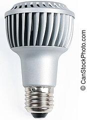 LED light bulb - next generation LED light bulb on white ...