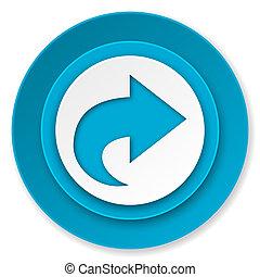 next icon, arrow sign