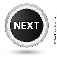 Next prime black round button