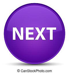 Next special purple round button