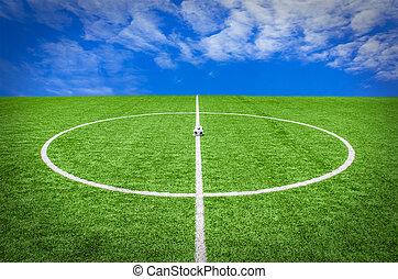 nezkušený, fotbal football, nebe