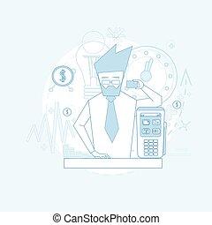 nfc, handlowy, kredyt, terminal, bankowość, utrzymywać,...