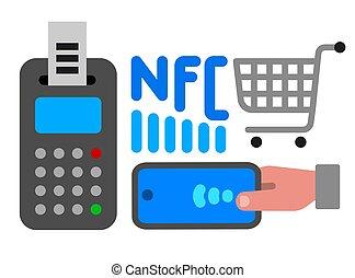 nfc, ikona