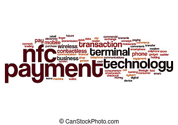 NFC payment word cloud