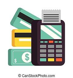 nfc, pieniądze, terminal, dajcie wiarę karcięta, wpłata, bank
