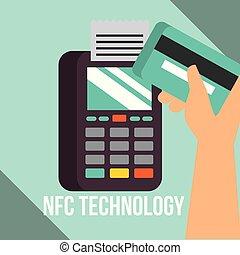 nfc, technologia, wpłata