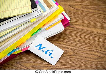 ng;, documentos, pila, empresa / negocio, escritorio