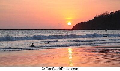 Ngapali beach sunset, Myanmar