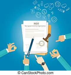 NGO Non Government Organization Types of business...
