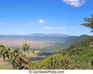 Ngorongoro crater, Serengeti park, Tanzania - Ngorongoro...