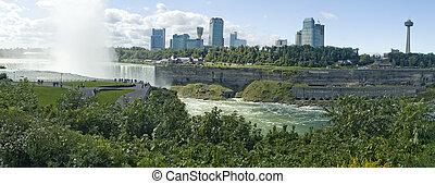 niágara, cascadas, panorama