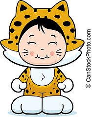niña, jaguar