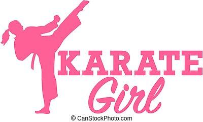 niña, karate