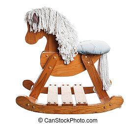 niñez, caballo de balancín