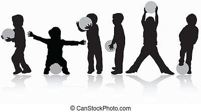 niños jugar
