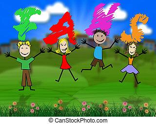 niños, medios, medios, juventudes, ventiladores, social