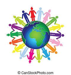 niños, mundo