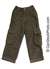 niños, pantalones