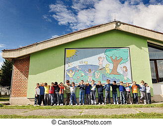 niños, preescolar