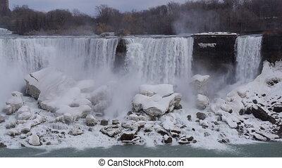 Niagara American Falls 1 Slo Mo 30P