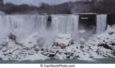 Niagara American Falls 1 Slo Mo 30P - Beautiful slow motion...