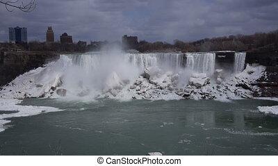 Niagara American Falls 2 Slo Mo 25P